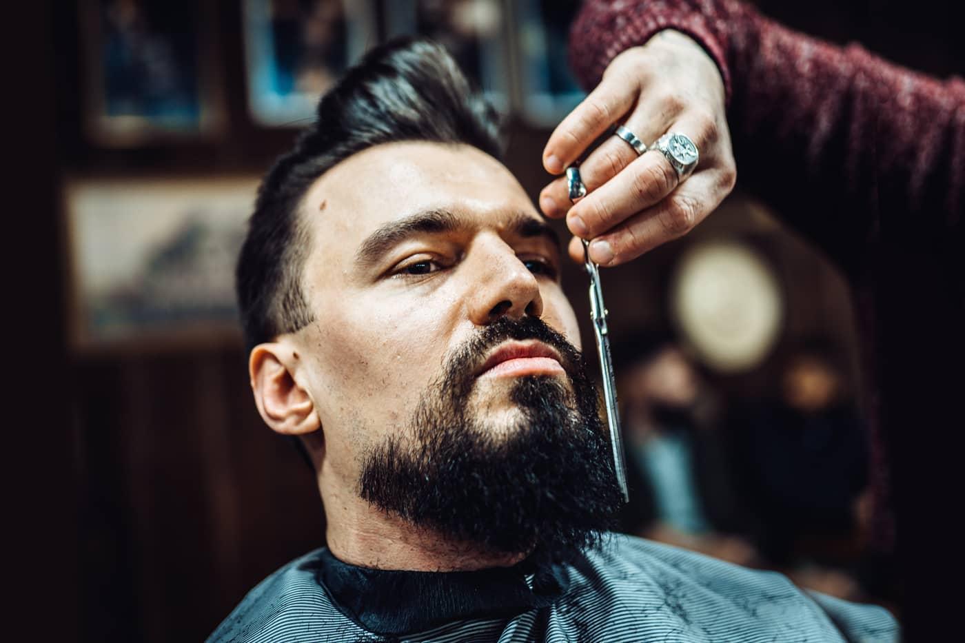 Lär dig att klippa ett skägg i vår workshop